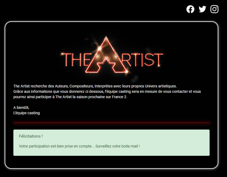 The Artist : qui ne tente rien n'a rien…