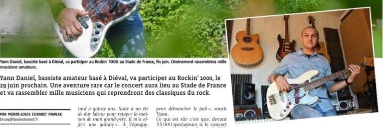 Interview par La Voix du Nord